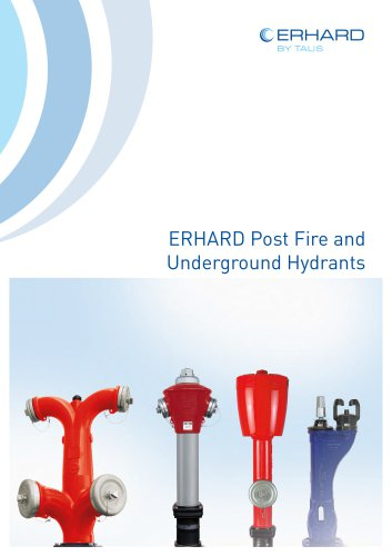 ERHARD Post Fire and Underground Hydrants