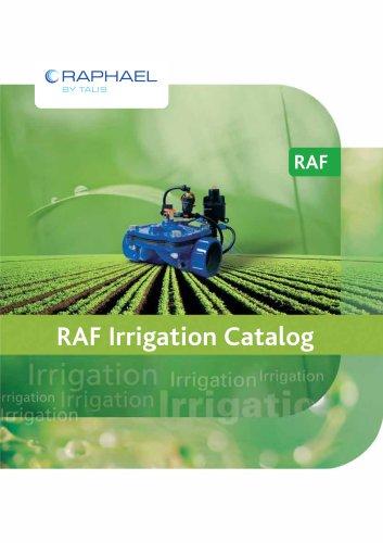 RAF Irrigation Catalog
