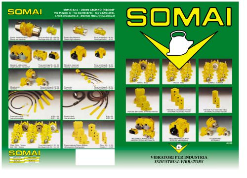 SOMAI - Industrial vibrators