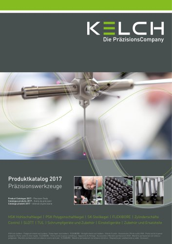 KELCH Product Catalogue Precisions Tools