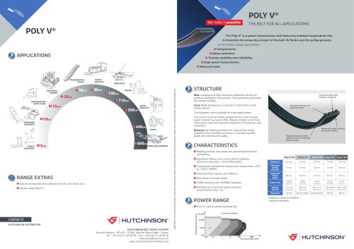 Poly V, the belt for all applications