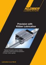Precision with Klüber Lubrication