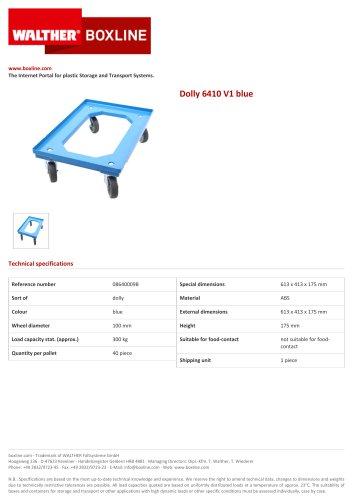 Dolly 6410 V1 blue