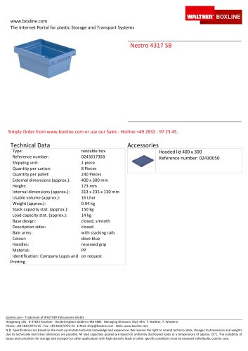 Nestro 4317 SB
