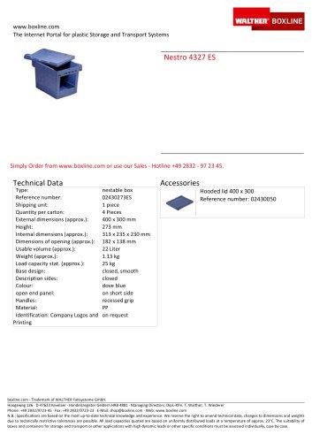 Nestro 4327 ES