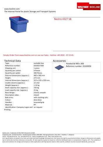 Nestro 4327 SB