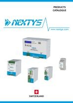NEXTYS  Products Catalogue