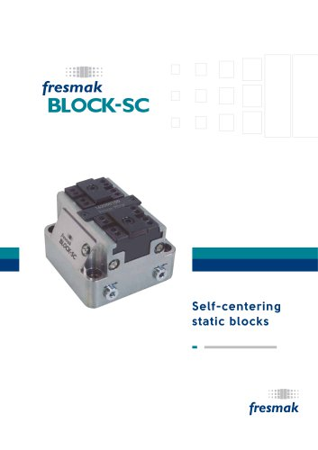 BLOCK-SC Self centering static blocks