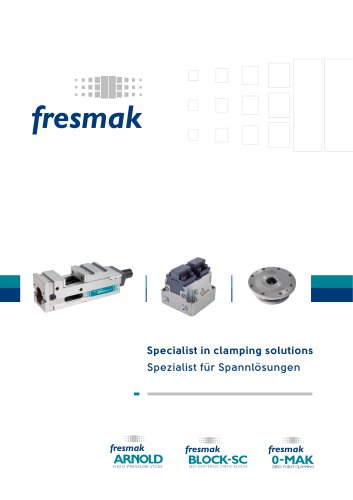 Specialist in clamping solutions