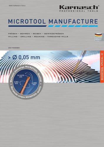 Microtool Manufacture