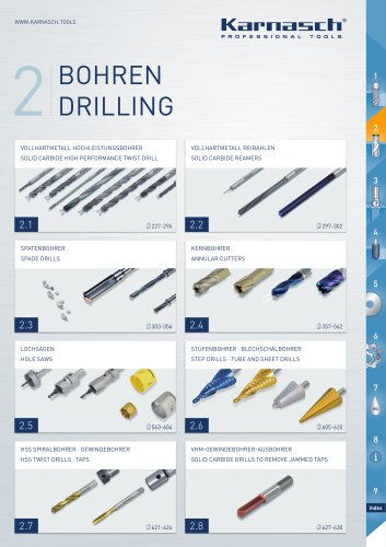 SOLID CARBIDE HIGH PERFORMANCE TWIST DRILL