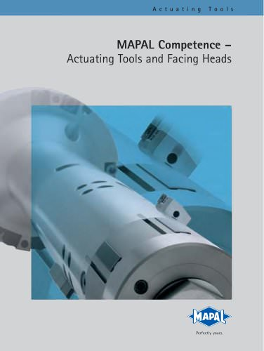 MAPAL Competence Actuating Tools
