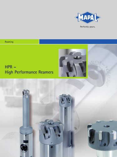 MAPAL HPR - High Performance Reamers