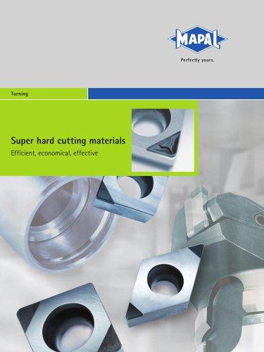 MAPAL Super hard cutting materials