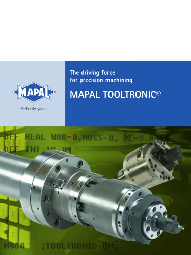 MAPAL TOOLTRONIC®