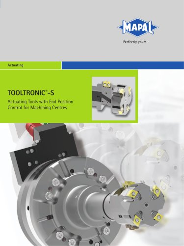 MAPAL TOOLTRONIC®-S