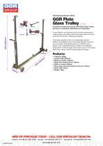 GGR Plate Glass Trolley