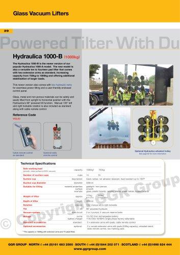 Hydraulica 1000-B