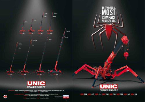 UNIC Cranes