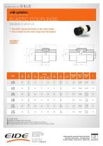 Acoplamiento elástico Modelo S y LS