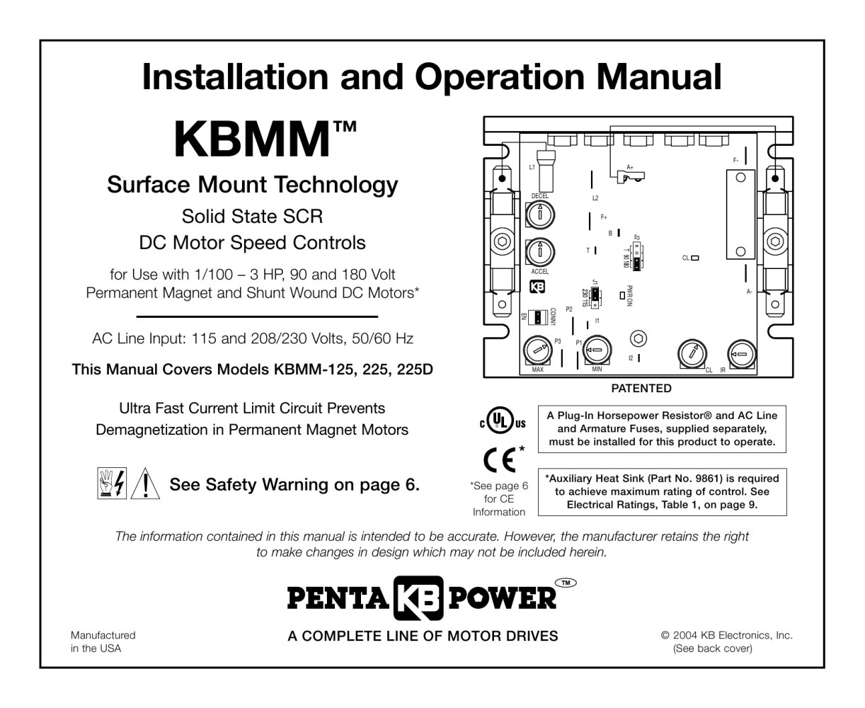 Kbmm Smt Kb Electronics Inc Pdf Catalogue Technical Kbic 120 Wiring Diagram 1 32 Pages