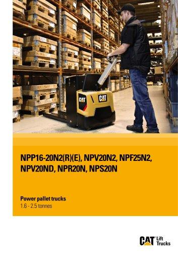 Power pallet trucks