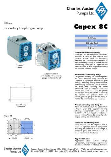 Capex 8C vacuum laboratory pump