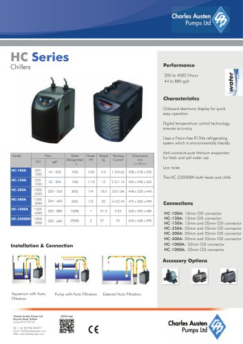 HC-150A White Chiller/Heater