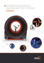 Antenna Measurement and Radome Test Systems Product Overview