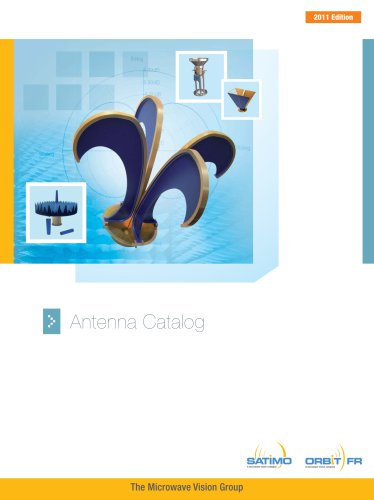 Catalogue Antennas