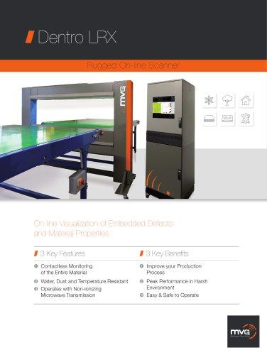 Dentro LRX Rugged On-line Scanner brochure