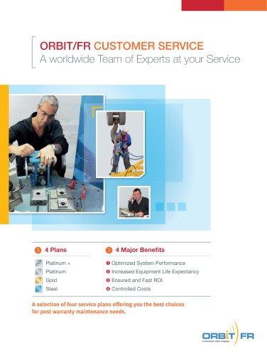 ORBIT/FR Customer Service Brochure