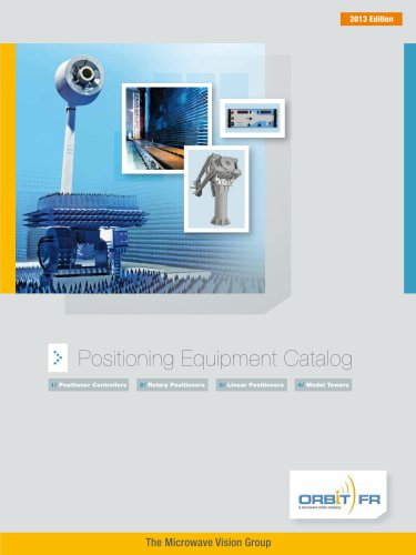 Positioning Equipment Catalog