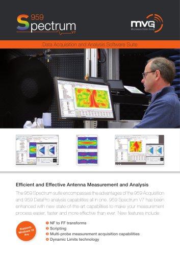 Spectrum V7 Data Acquisition & Analysis Software