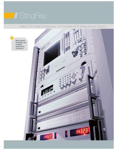 StingRay: Gated-CW Radar Architecture