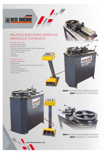 Pipe Bending Machines Catalog