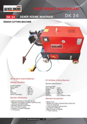 Rebar Cutting and Bending Machine Catalog