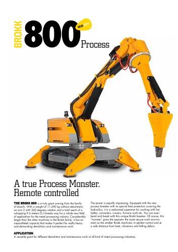 Brokk 800 Process