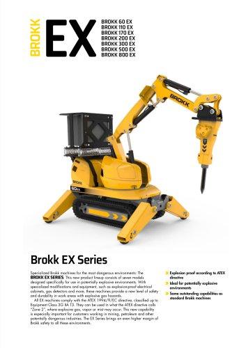 Brokk EX Series