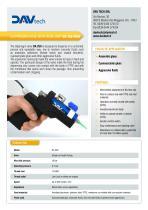 DA 250 MAN - manual diaphragm valve