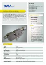 DA 400 - needle valve - 1
