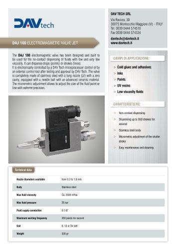 DAJ 1000 Electromagnetic jet valve