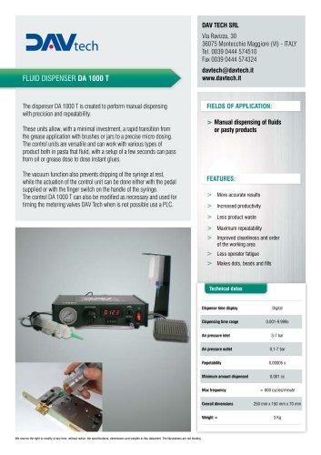 Digital dispenser DA 1000 T