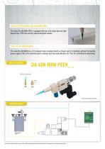 Dispensing needle valve DA 400 MINI PEEK - 2