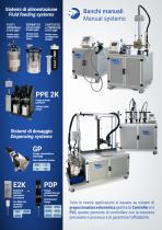 Dispensing systems for 2K resins - 2