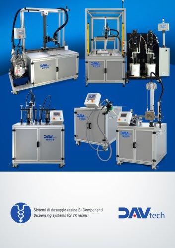 Dispensing systems for 2K resins