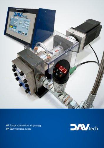 Gear Volumetric Pumps GP