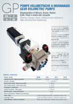 Gear Volumetric Pumps GP - 2