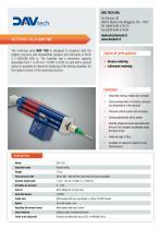 Metering greasing valve DAV 100 - 1