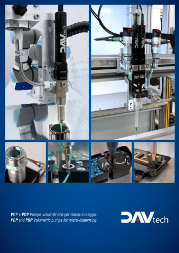 PCP and PDP volumetric pumps